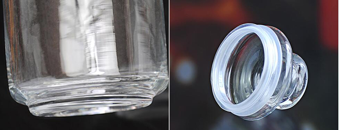 Glass Mason Jar and Glass Jar with Lid Different Capacity