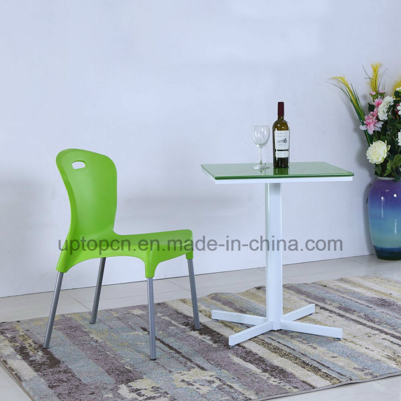Wholesale Cafe Square Table and Plastic Chair for Catering (SP-CT841)