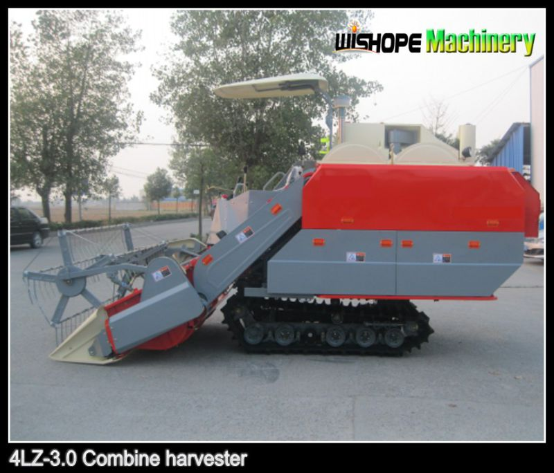 Double Thresher Combine Harvester