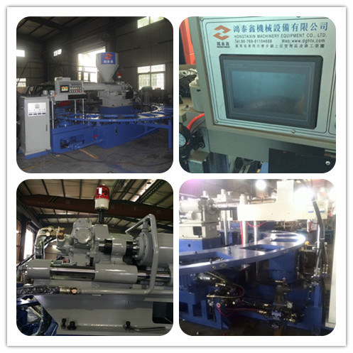 Rotary PVC Shoes Making Injection Moulding Machine