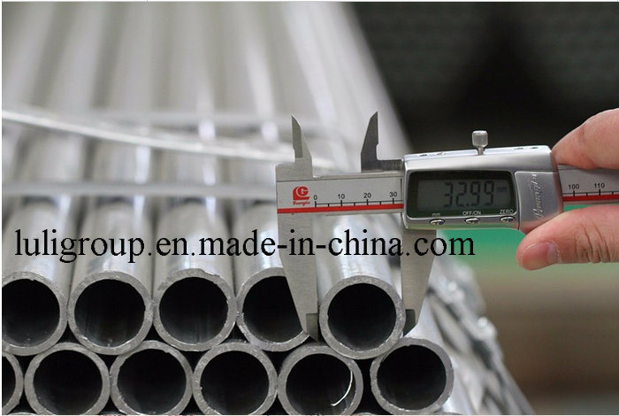 ERW Hot DIP Galvanized Steel Tube BS1387 Galvanized Steel Pipe