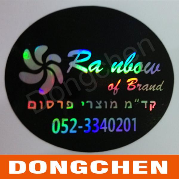 High Reputation Adhesive Reflective Printed Custom UV Resistant Car Sticker