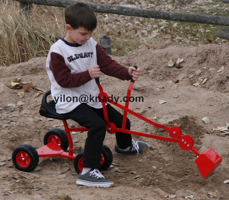 Sandbox Digger Backhoe Toy Excavator for Kids