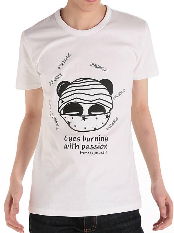Funny Eyes Burning Printed Wholesale Custom Cotton Fashion Men Summer T Shirt