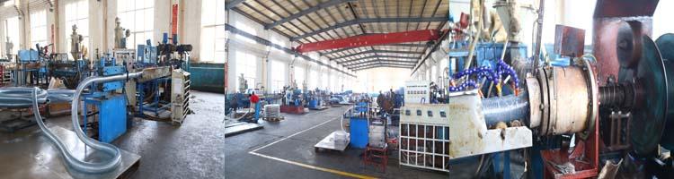 ISO Certificate PVC Steel Wire Reinforced Vacuum Hose Pipe