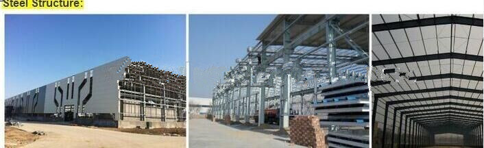 Ce Certification Design Prefabricated Steel Frame Warehouse Steel Structure