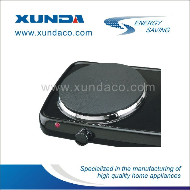Two Plate Electric Hot Plate Stove