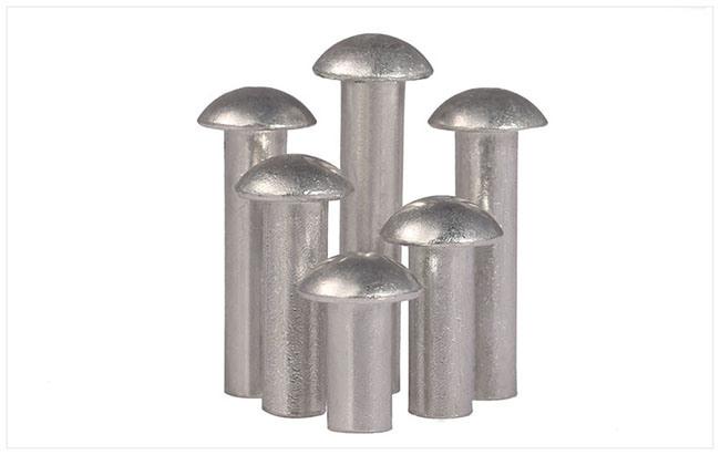 Aluminium Round Head Solid Tin Rivets