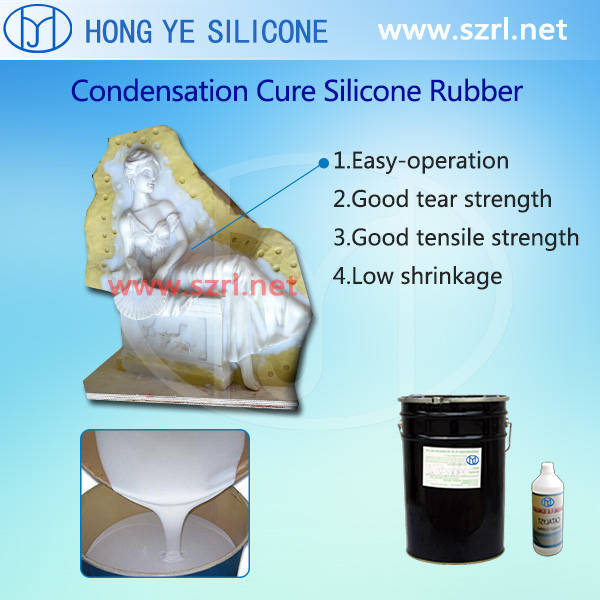 Car Tire Molding Silicon Rubber (RTV Series)