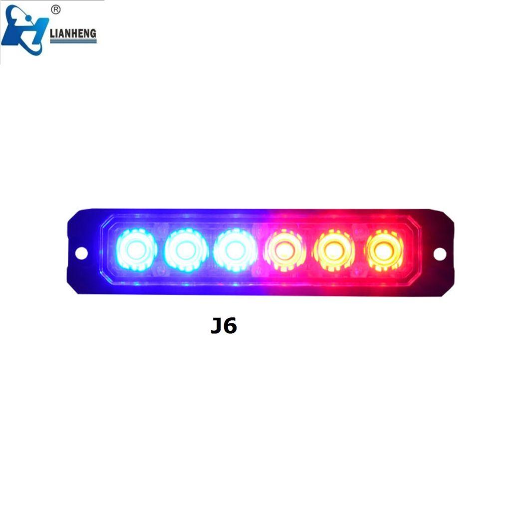 High Quality 6 LED Emergency LED Strobe Light Head