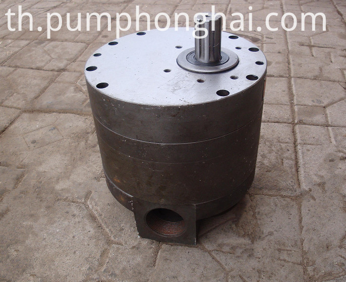 Small Flow Stainless Steel Gear Pump