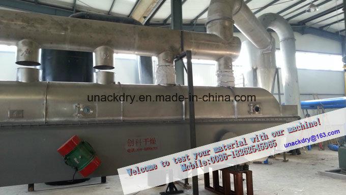 Vibration Fluid Bed Dryer for Drying Grain