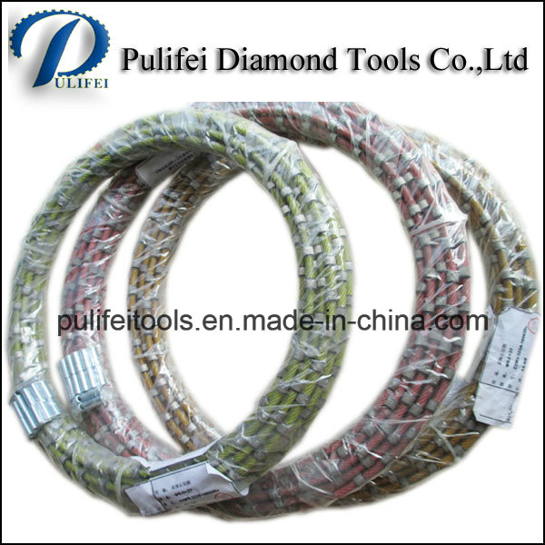 Granite Cutting Tools Diamond Wire Saw for Quarrying Profiling