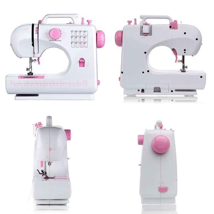 Domestic Overlock Sewing Machine (FHSM-506) From China Factory Supplier