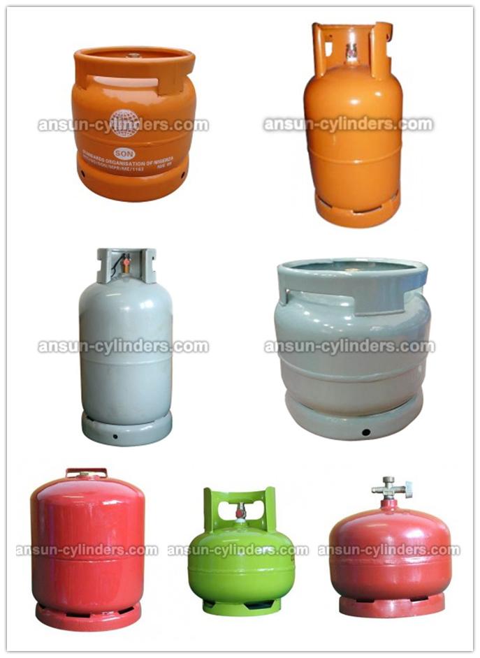Steel Gas Tank& LPG Gas Cylinder (AS-LPG-3KGA)