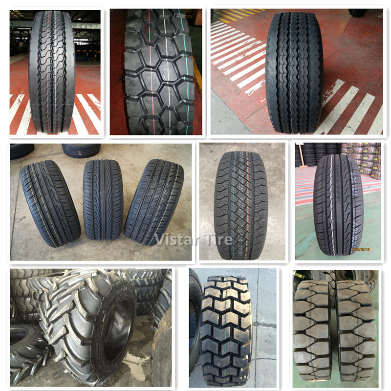 Pneumatic Shaped Solid Tyre (4.00-8, 5.00-8, 21X8-9, 23X10-12, 7.00-12, 7.50-15)