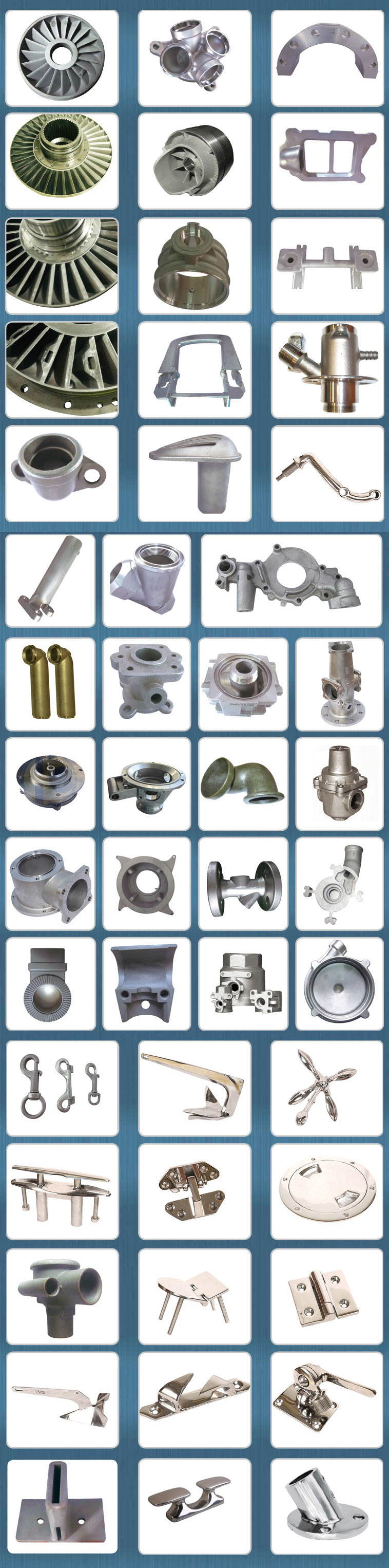 Stainless Steel Precision Casting Bushing with Flange