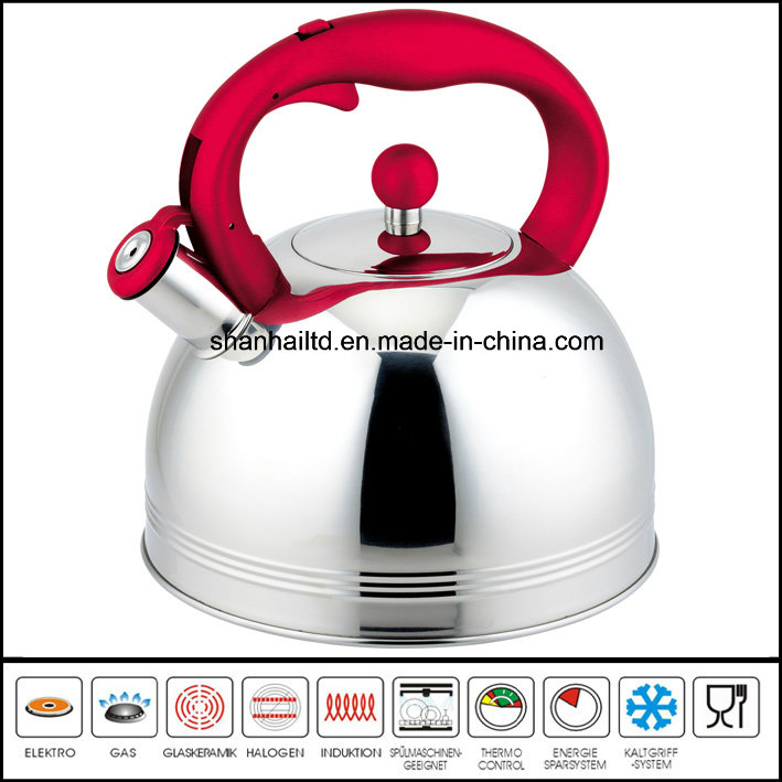 5L Large Stainless Steel Whistle Kettle