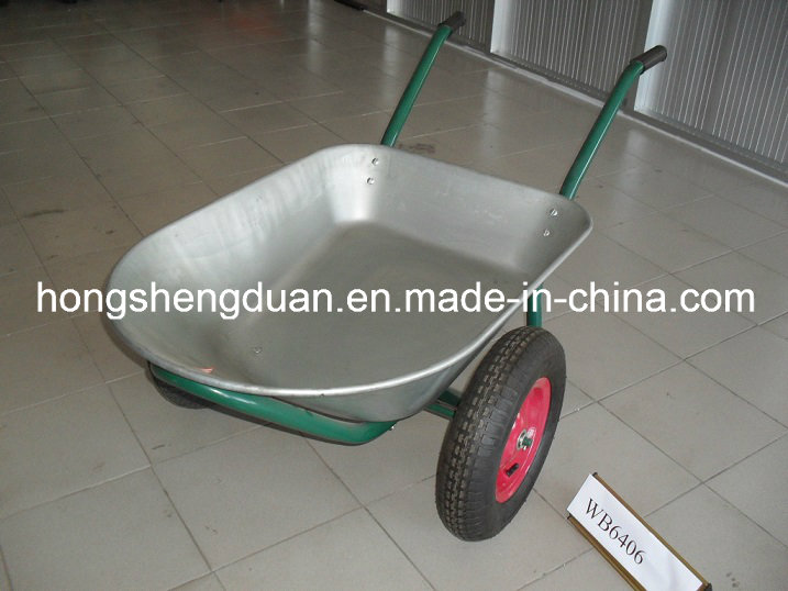 Galvanized Tray Water Capacity 75L Wheel Barrow