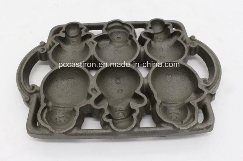 Cast Iron Pancake Plate with Handle Size 21cm