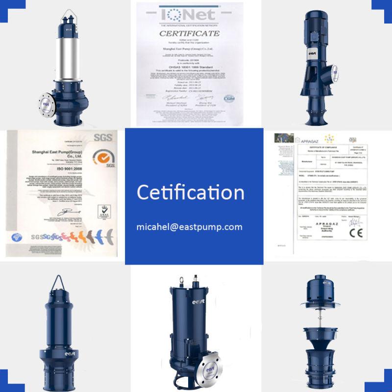 Sewage Pumping Station Submersible Water Pump