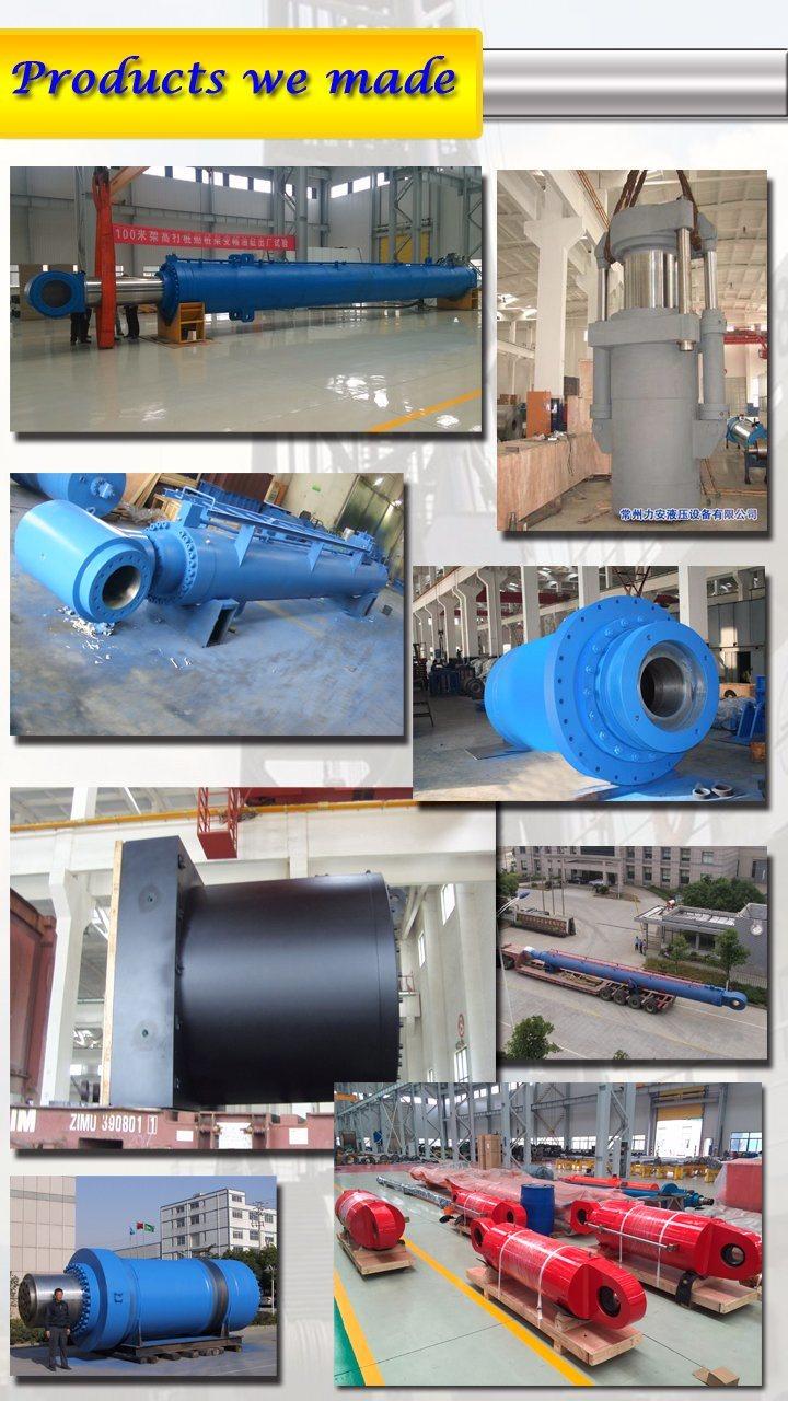 Customized Medium Pressure Double Acting or Single Acting Telescopic Hydraulic Cylinder