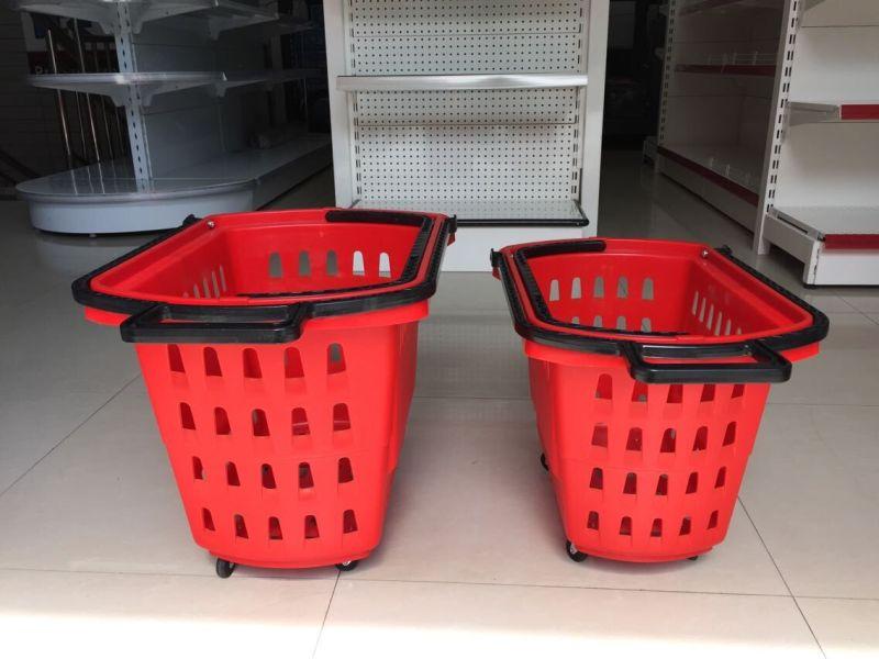 Cheap Plastic Shopping Basket on Sale Yd-B7