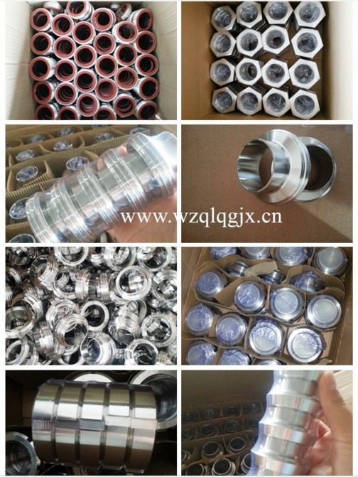 Stainless 304 316 Fittings Sanitary Quick Tube Coupling