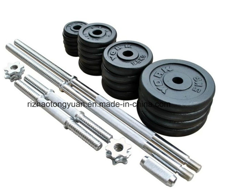 50kg Painted Dumbbell Set with Carrying Box