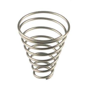 Wholesale Chrome Steel Conical Compression Spring