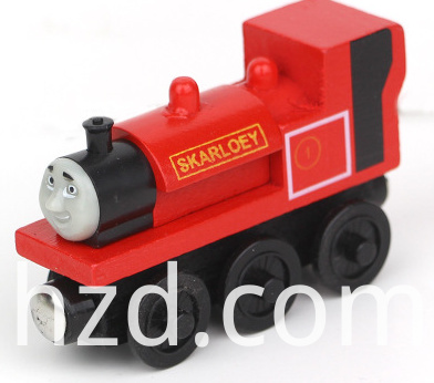 wooden thomas train