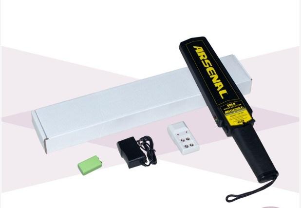 Security Hand Held Metal Detector / Portable Metal Detector for Airport, Railway, Subway