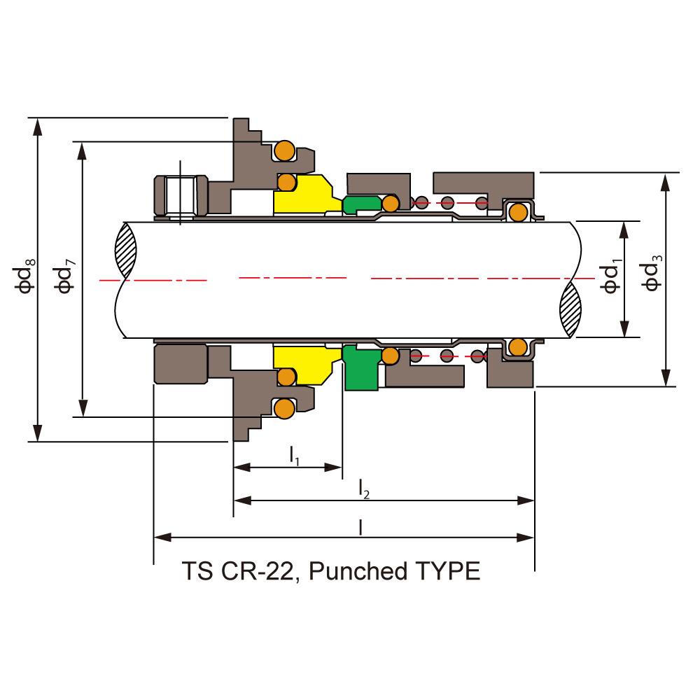 Cr Seal for Grundfos Pump