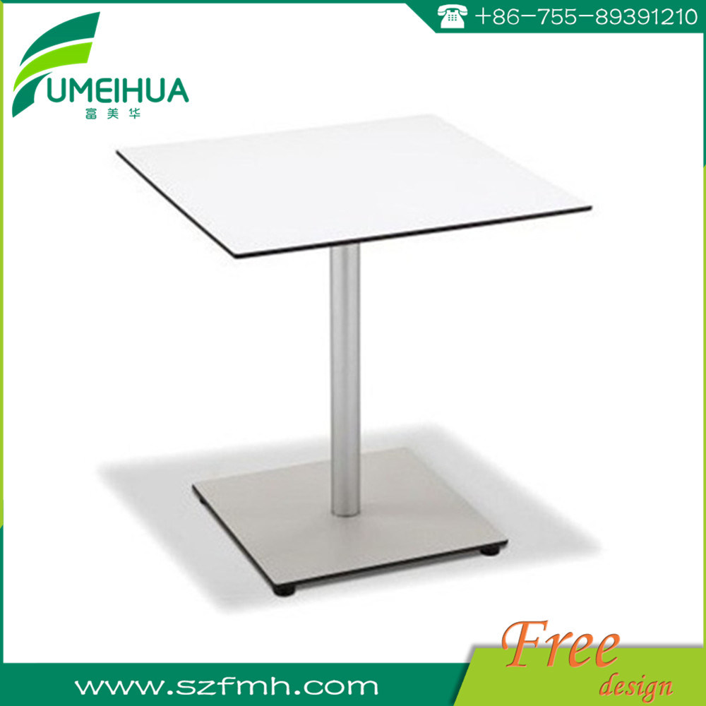 High Quality Round White HPL Table Top for School