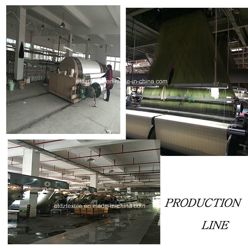 100% Polyester Shringkage Yarn Miranda Curtain Fabric