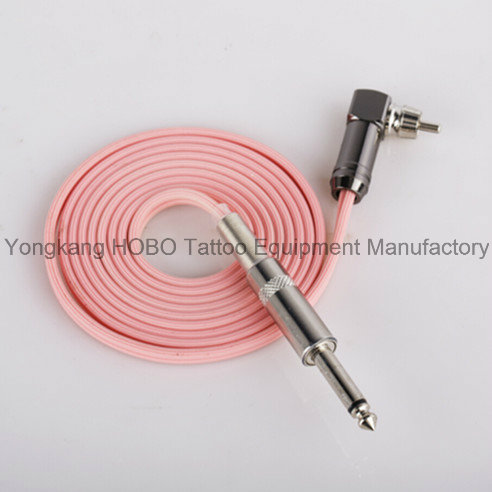 High Quality Tattoo Silicone Rubber Clipcord with 1/4'' Plug