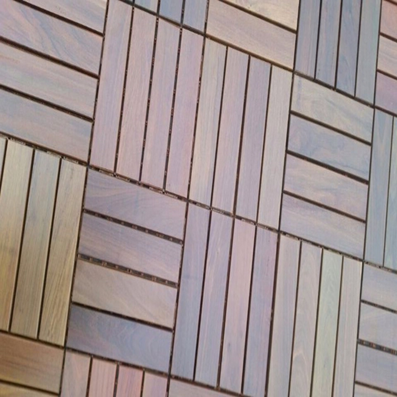 300*300mm Ipe Outdoor Decking Tiles