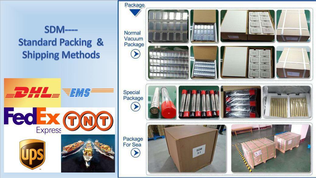 High Quality N30h Neodymium Block Magnet