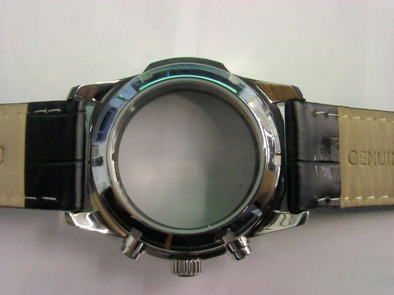 Fine 316L Stainless Steel Watch Case with Band for Mens Timepiece
