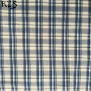 100% Cotton Yarn Dyed Plaid Woven Fabric for Shirts/Dress Rls40-5po
