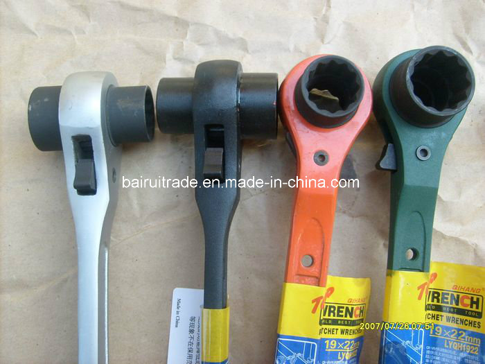 19mm Double Ratchet Wrench Socket Ratchet Wrench for Scaffolding