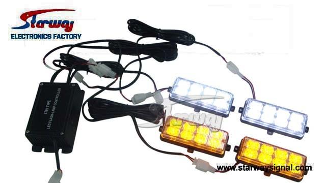 Starway Waterproof Strobe LED Grille Light Head (LED218)