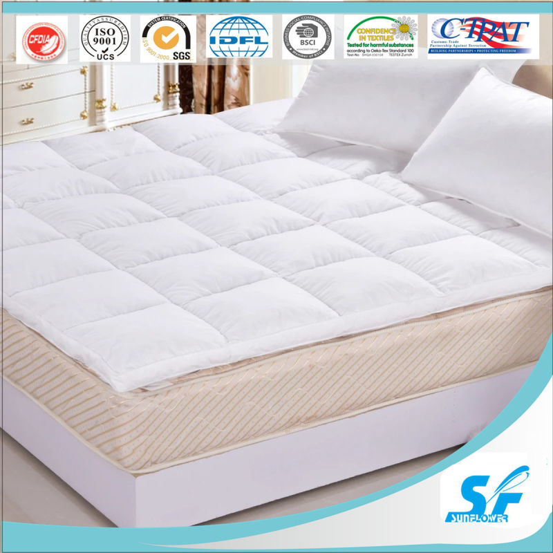 Luxury Hotel/Home Yellow Mattress Topper