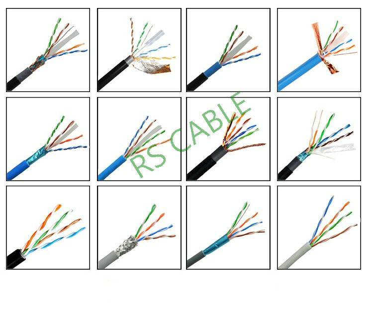 Vertical Cable CAT6A 10g, STP, 23AWG, Solid Bare Copper, PVC, 1000FT, Gray, Bulk Ethernet Cable