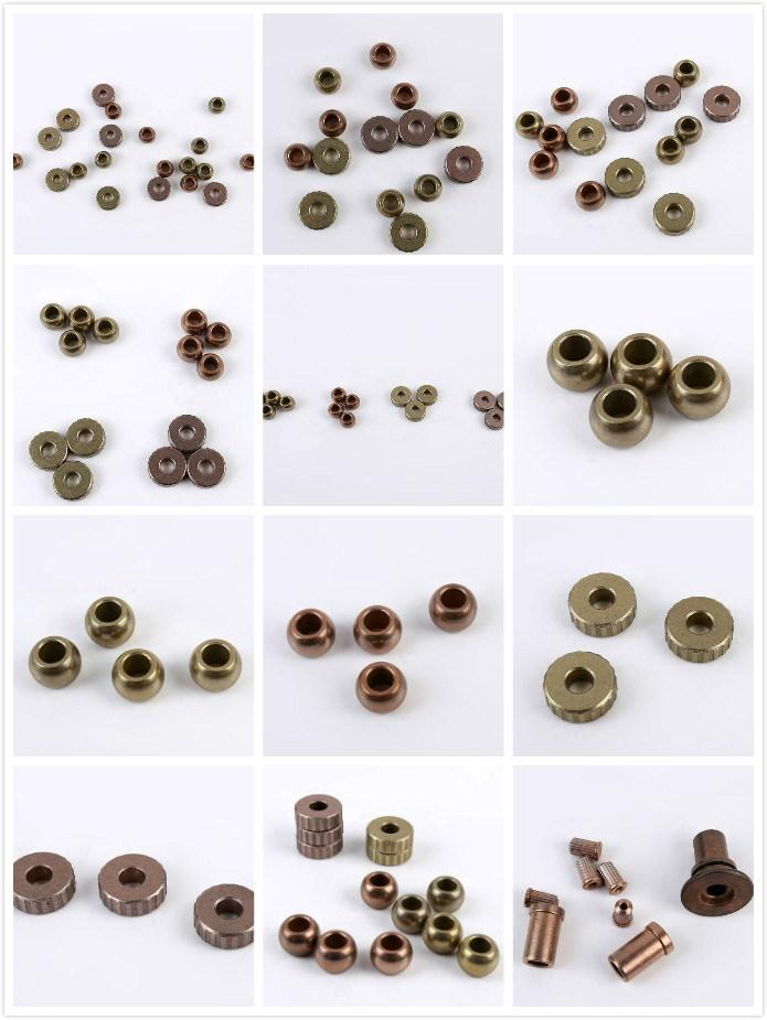 Iolite Sintered Bronze Bearing Bush Oiless Porous Bronze Bushing