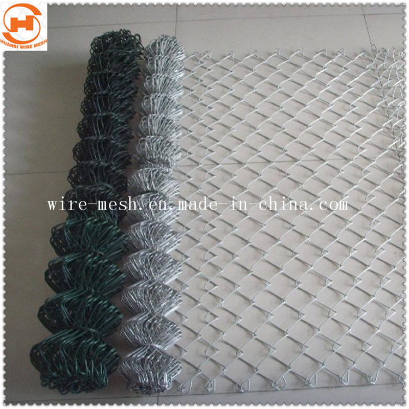 Galvanized Chain Link Fence for Protected