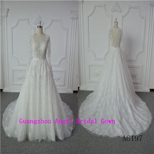 Elegant Mermaid Bridal Dress