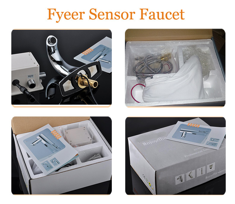 Fyeer Wholesale Cheap Cold Water Only Automatic Sensor Tap