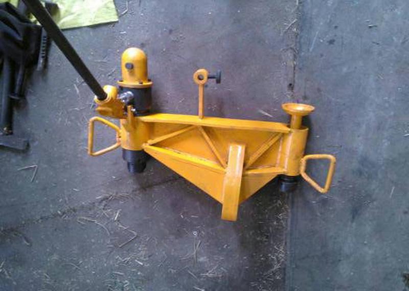 Kwcy-600 Portable Vertical Hydraulic Rail Benders