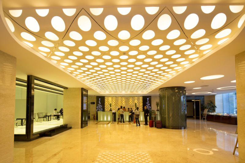 Wood Grain Aluminum Ceiling Board